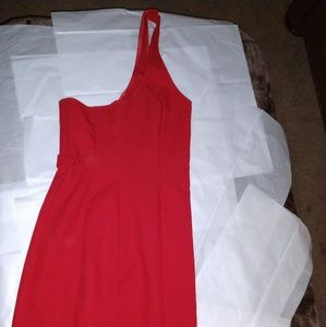 UNITED COLORS OF BENETTON 1 SHOULDER RED